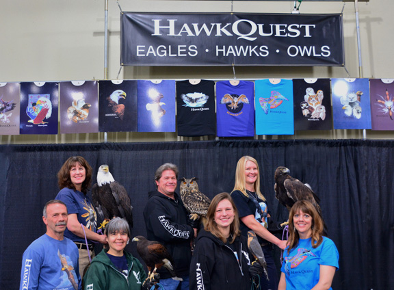HawkQuest Booth